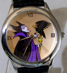 Walt Disney Maleficent Watch Artists Signature Series Wristwatch New