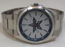 Dallas Cowboys Watch Avon Release Mens 3 Hand Silver Tone Wristwatch