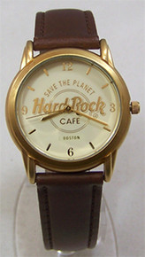 Fossil Hard Rock Cafe Watch Boston Vintage HardRock Wristwatch