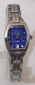 Florida Gators Watch Fossil Ladies Three Hand Date Wristwatch Li3012