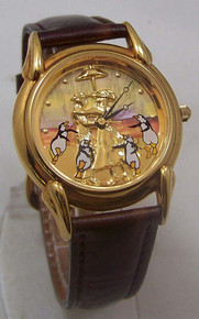 Mary Poppins Watch Walt Disney Collectible Lmtd Ed with Train Car