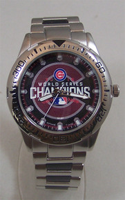 Chicago Cubs 2016 World Series Watch Mens Commemorative Wristwatch