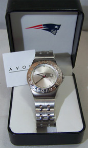 New England Patriots Watch Avon Release 2007 Wristwatch Mens