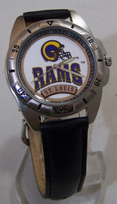 St Louis Rams Watch Fossil Mens Vintage 1995 Wristwatch With Tin New