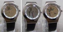 Tinker Bell Animated Watch Rare Disney Animation Wristwatch