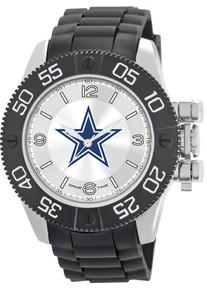 Dallas Cowboys Watch Game Time Beast Mens Black Wristwatch NFL-BEA-DAL