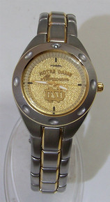 Notre Dame Fossil Ladies Watch Monogram Style Vintage Wristwatch