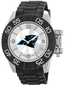 Carolina Panthers Watch Game Time NFL Beast Mens Black Wristwatch New