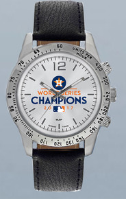 Houston Astros Watch 2017 World Series Letterman Mens Wristwatch