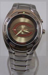 Chicago Bears Watch Fossil Flash Logo Kaleido Mens NFL Wristwatch