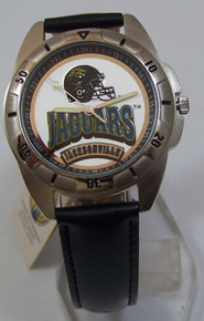 Jacksonville Jaguars Watch Fossil Mens Vintage 1995 Wristwatch in Tin