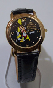 Walt Disney Mickey Mouse Watch 1995 Disneyana Convention Wristwatch