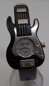 WristRock Guitar Watch Black Fender Strat Style Novelty Wristwatch