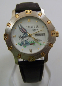 Bugs Bunny Watch Whats Up Doc 1994 Bugs in Bunny Hole Armitron Watch