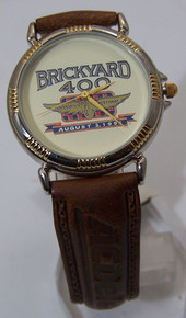 Brickyard 400 Watch Motor Speedway Race Car AC Delco Fossil Wristwatch