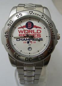Boston Red Sox Watch 2018 World Series Sport Steel Mens Wristwatch