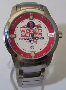 Boston Red Sox Watch 2018 World Series Titan Mens Date Wristwatch