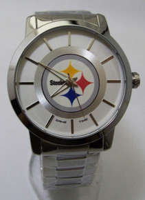 Pittsburgh Steelers Watch Mens Competitor Series NFL Wristwatch New