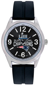 New England Patriots Super Bowl 53 LIII Watch Mens Game Time Varsity