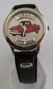 Fossil 57 Chevy Truck Watch Relic Chevrolet PickUp Wristwatch Vintage