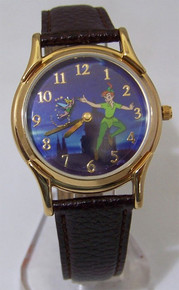 Peter Pan Watch Disney 45th Anniversary Lmt Ed Animated Tinker Bell