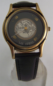 Fossil Hard Rock Hotel Watch Rotating Animated Guitars Wristwatch