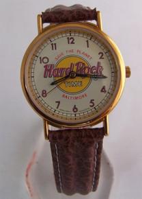 Fossil Hard Rock Cafe Watch Baltimore Vintage HardRock Wristwatch
