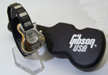 Gibson Guitar Watch Gibson USA Nighthawk Collectible Silver Wristwatch