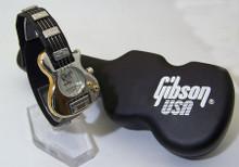 Gibson Guitar Watch Gibson USA Nighthawk Collectible Silver Wristwatch