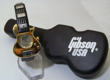 Gibson Guitar Watch Gibson USA Nighthawk Collectible Gold Wristwatch