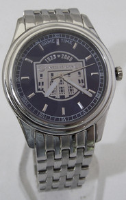 Yankee Stadium Watch Final Season Collectors Platinum Logo Wristwatch