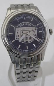 Yankee Stadium Watch Final Season Collectors Platinum Logo Wristwatch