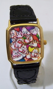 Snow White Watch Walt Disney Seven 7 Dwarfs LE Wristwatch