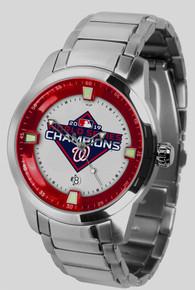 Washington Nationals Watch World Series Titan SS Mens Wristwatch