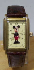 Disney Mickey Mouse Watch Charlotte Clark Doll Tribute LE Wristwatch