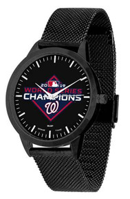 Washington Nationals Watch 2019 World Series Statement Mesh Wristwatch