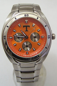 Tennessee Volunteers Fossil Watch Mens Multifunction Wristwatch Li2403