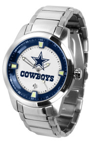 Dallas Cowboys Watch Mens Game Time Titan Series Stainless Wristwatch