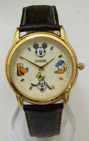 Fossil Mickey Mouse And Friends Watch Set Book Mark Wristwatch Lmt Ed
