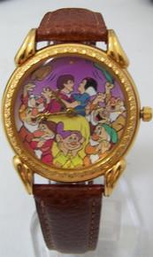 Snow White Watch Walt Disney Seven 7 Dwarfs Lmt Ed 350 Wristwatch RARE