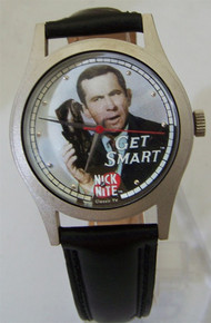 Get Smart Fossil Watch Maxwell Smart Wristwatch and Exploding Cap Pen