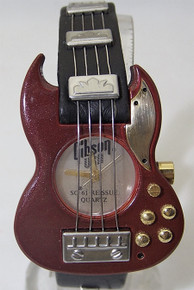 Gibson Guitar Watch Les Paul SG 61 Reissue Red Wristwatch Mens New
