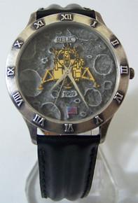 Apollo 11 Lunar Moon Landing Watch Fossil Relic Vintage Wristwatch