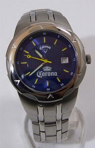 Callaway Golf Watch Mens Corona Beer Sponsorship SS Wristwatch New