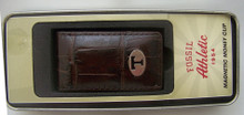 Tennessee Volunteers Money Clip Mens UT Leather Magnetic Clip New