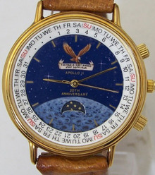 Apollo 11 Moon Watch Eagle Lunar Moon Landing Vintage Wristwatch New