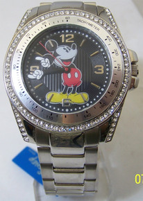 Mickey Mouse Watch Mens Disney Rotating Mickey Hands MZB Wristwatch