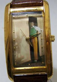 Walt Disney Watch Walt with Mickey Mouse Shadow Wristwatch Limited Ed