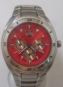 Valdosta State Blazers Fossil watch Mens Multifunction SS Wristwatch