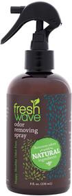 Freshens surfaces by devolitizing odors.